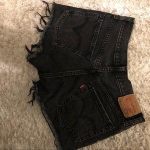 Levi's Shorts - Levi's 501 HIGH RISE DENIM SHORT